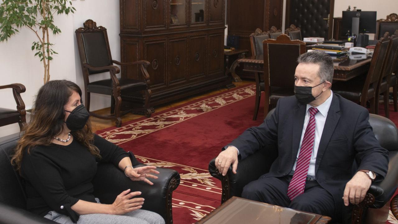 Министър Стоилов се срещна с Н.Пр. Херо Мустафа