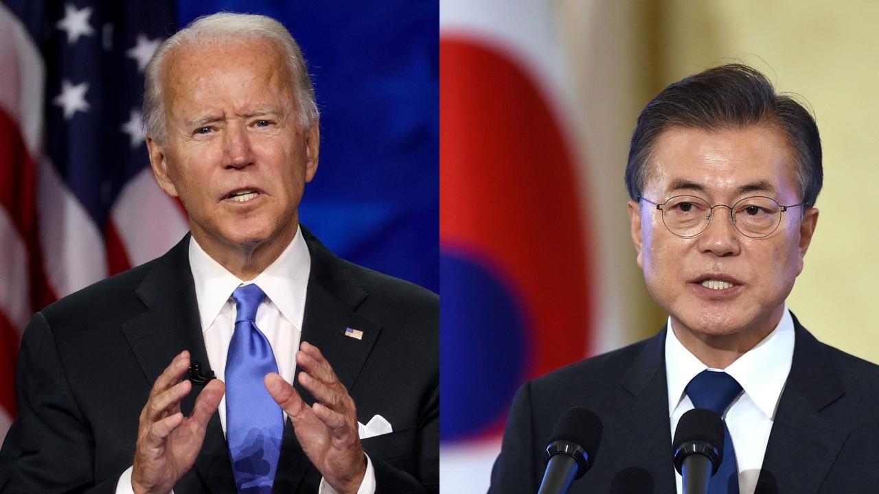 Байдън посреща Мун в Белия дом, за да обсъдят стратегията спрямо Пхенян