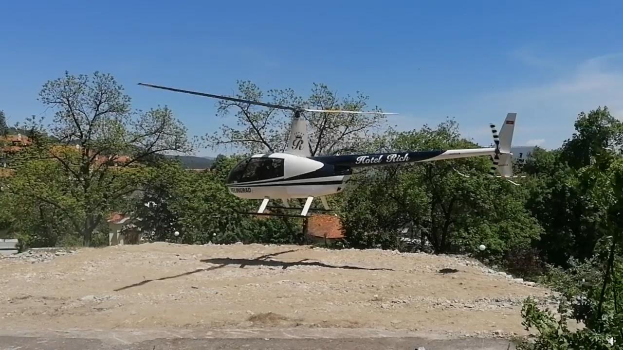 Хеликоптер за разходки тероризира Велинград