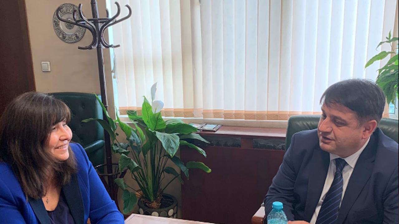 Областният управител на Софийска област се срещна с директора на областната РИОСВ и областният управител на София-град