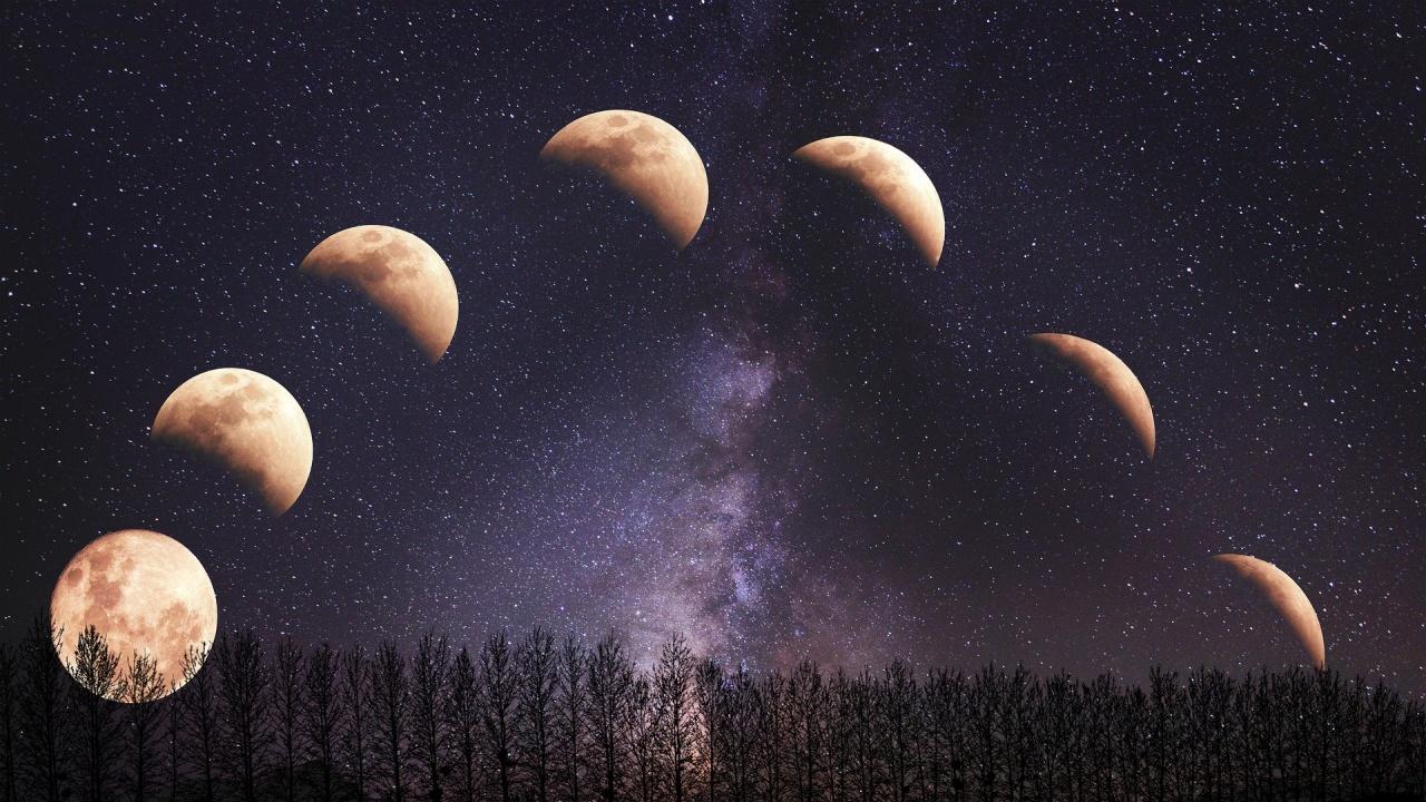 Лунното затъмнение реализира натрупаната карма