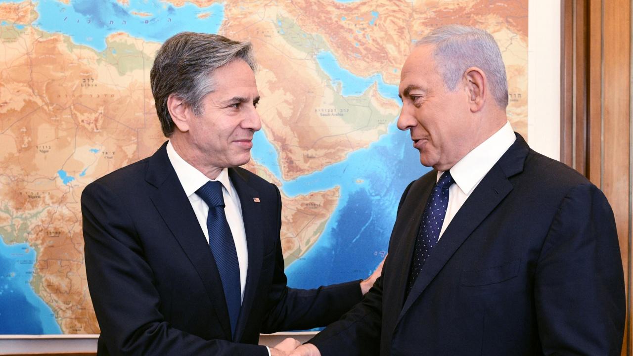 Двудържавното решение остава единствен вариант, каза Блинкън в края на визитата си в Ерусалим и Рамала