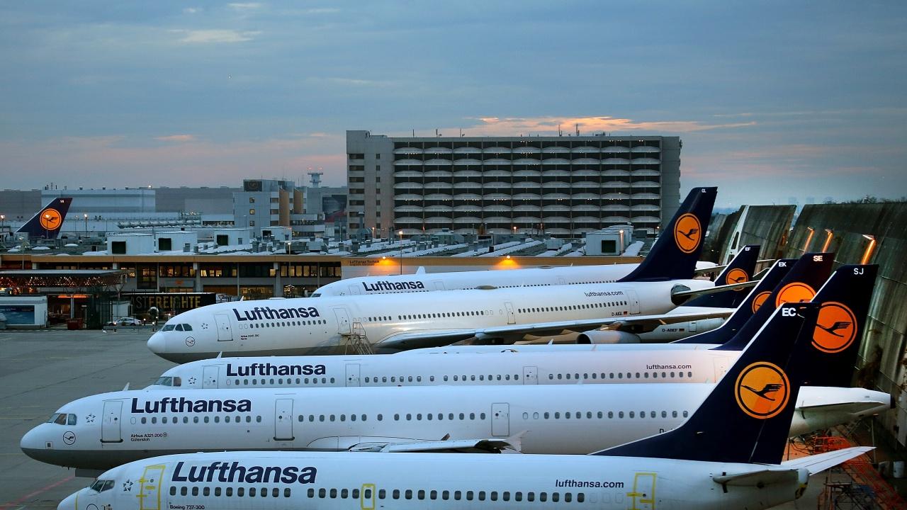 """""""Луфтханза"""" спира полетите от Франкфурт за Минск до 3 юни"""