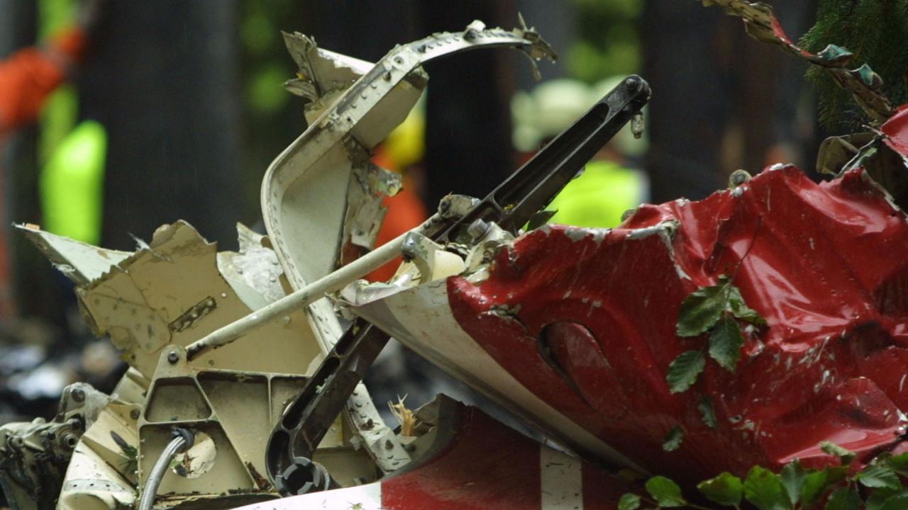 Самолет падна в Швейцария