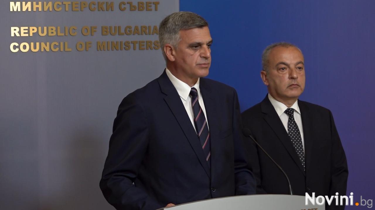 Служебният премиер: Опитваме се да освободим държавата от незаконосъобразни практики и действия