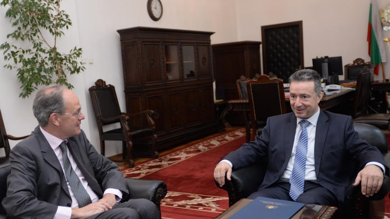 Министър Стоилов се срещна с посланика на Федерална Република Германия