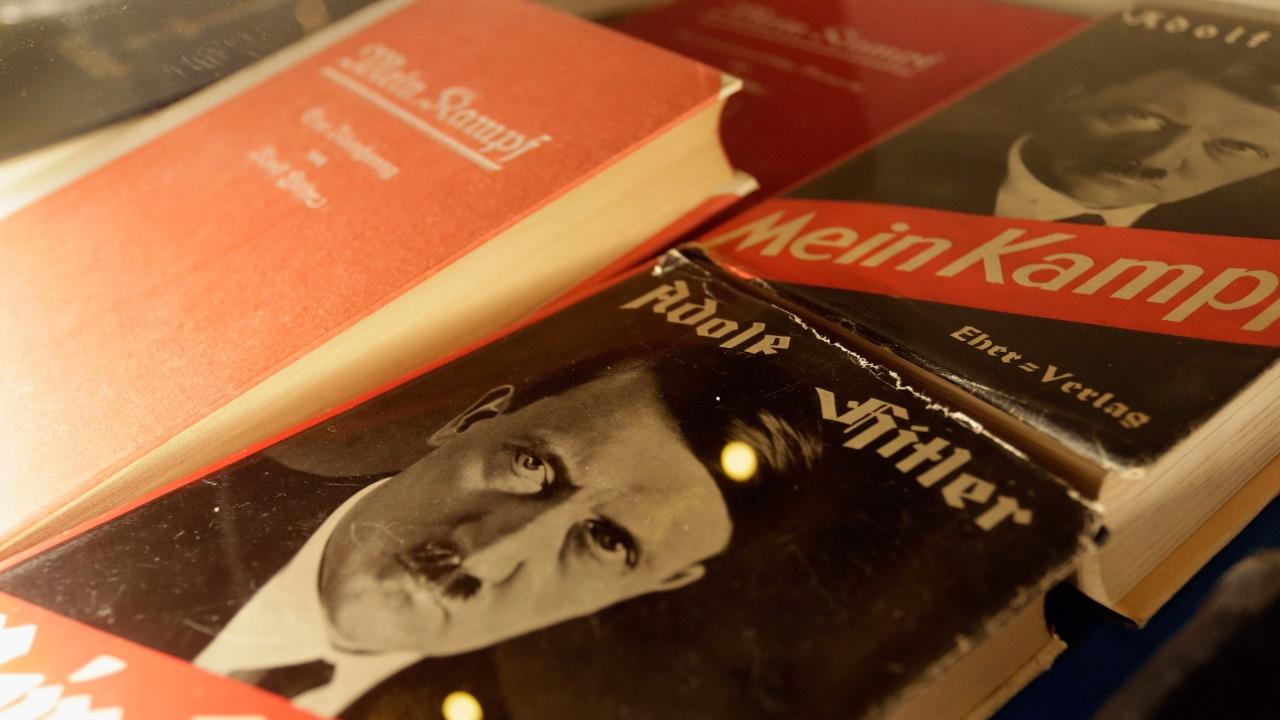"""Във Франция ще издадат критично издание на """"Моята борба"""" на Хитлер"""