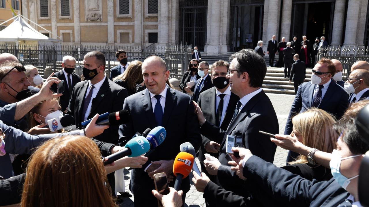 Румен Радев: Общата ни история и култура задължават България и Република Северна Македония да вървят заедно