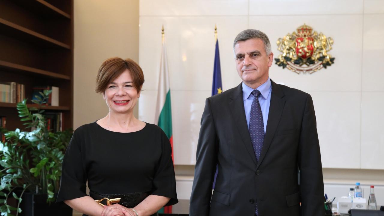 Янев и посланичката на Турция у нас разговаряха за изборите и отношения между държавите ни
