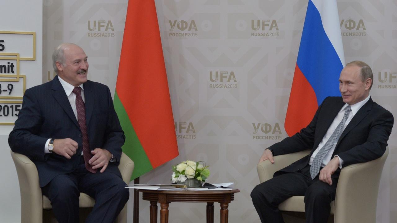 Путин подкрепи Беларус в противопоставянето ѝ със Запада заради отклонения самолет