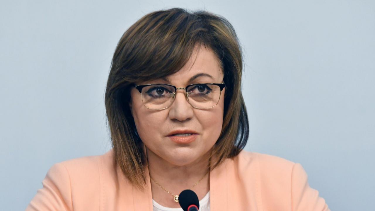 Корнелия Нинова: Няма преврат в България, служебният кабинет следва политиките на БСП