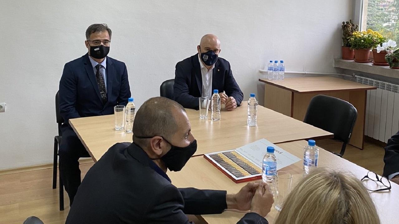Гешев обсъди изборите и борбата с престъпността с прокурори и следователи от Смолян