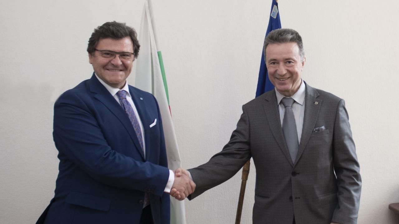 Проф. Стоилов се срещна с главния преговарящ за европейската интеграция на Албания