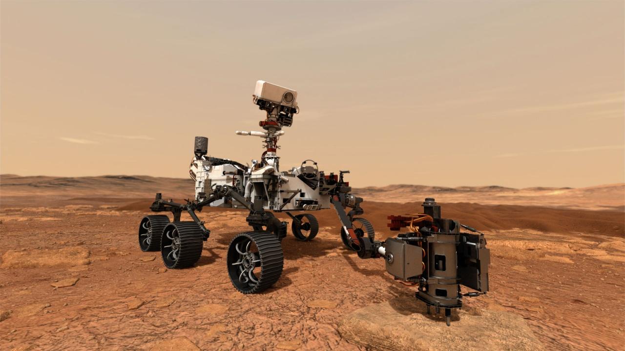 """""""Пърсивиърънс"""" отбеляза 100 дни на Марс"""