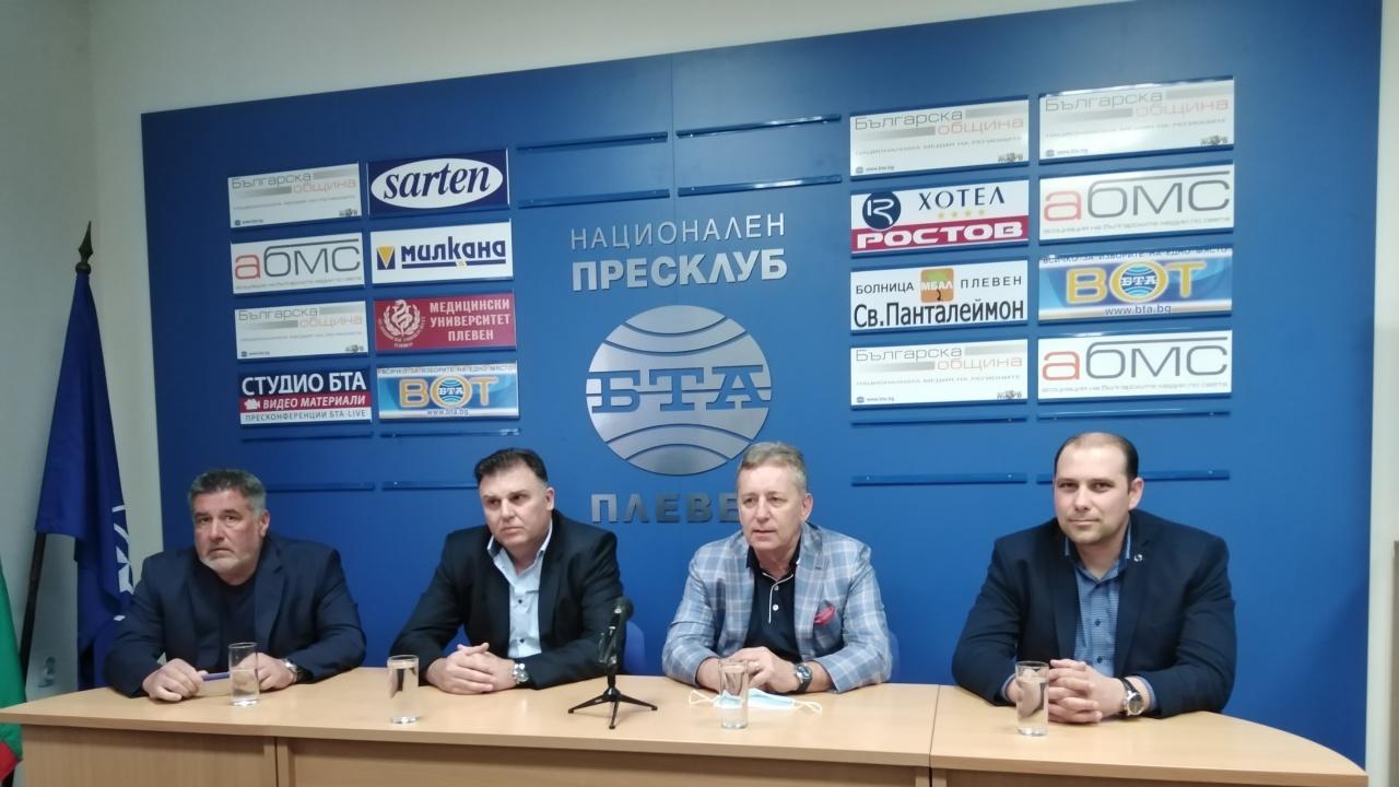 Валери Лачовски е новият областен координатор на ГЕРБ – Плевен