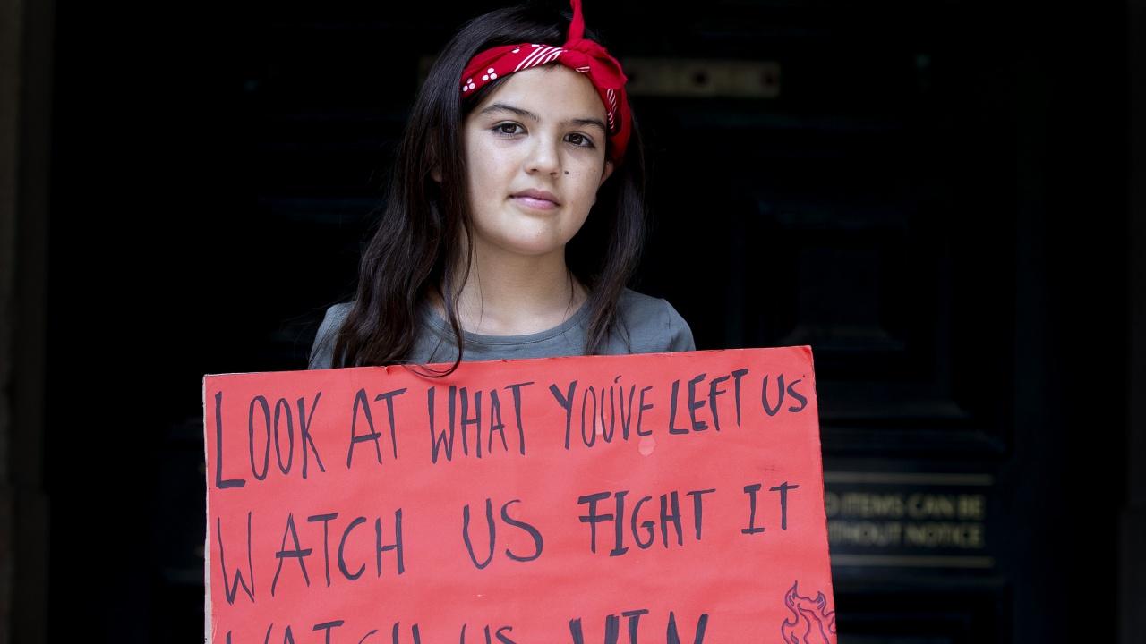 """""""Австралийската Грета Тунберг"""" засилва активността си срещу климатичните промени"""