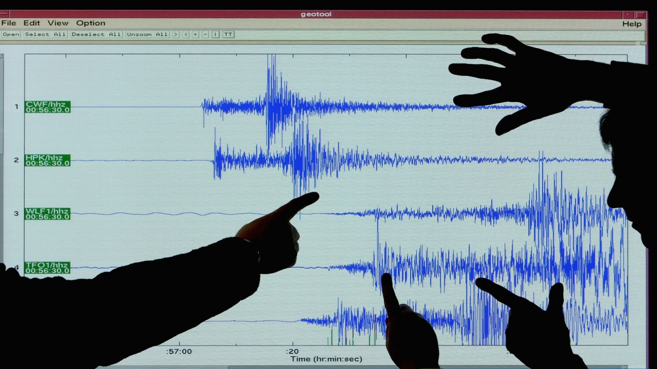 Земетресение разлюля Южна Турция