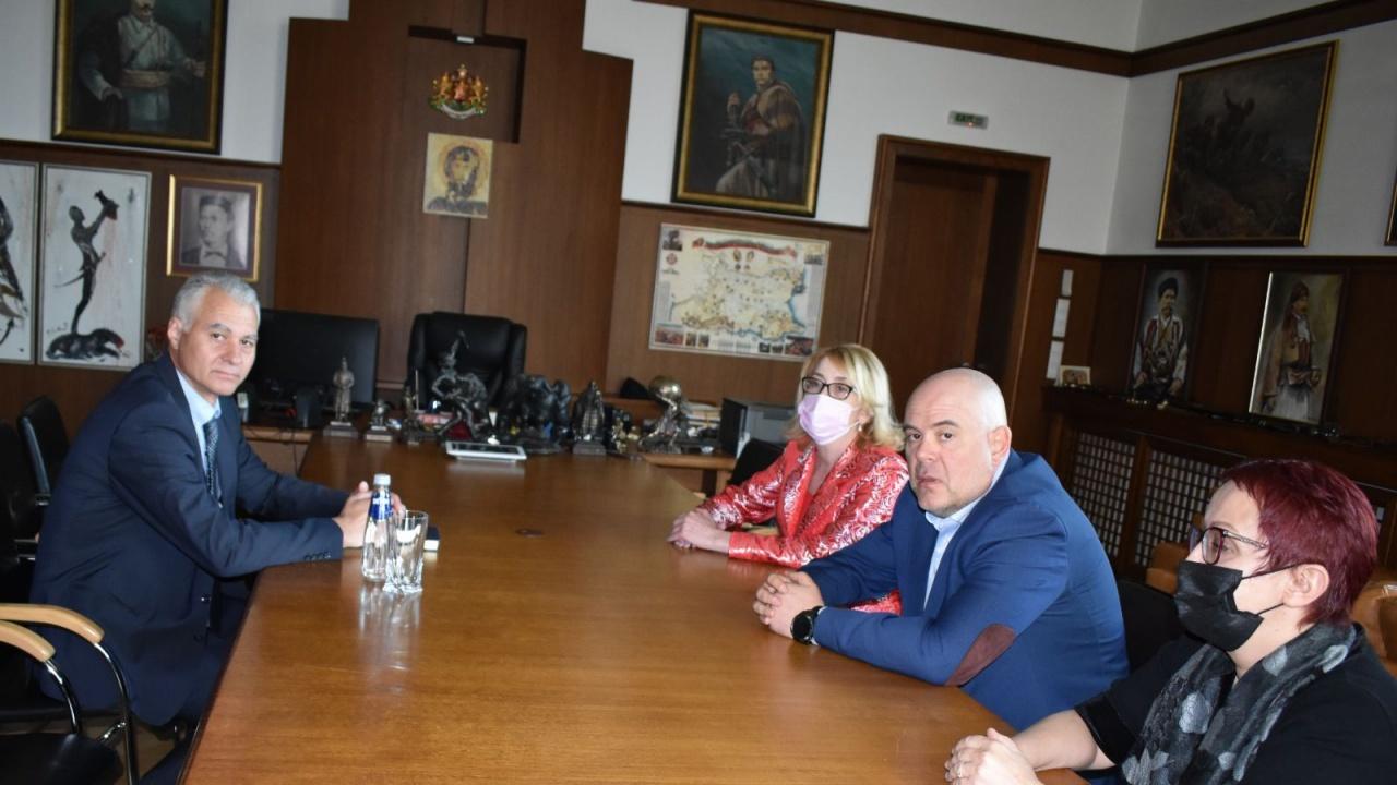 Иван Гешев на среща с новите председатели на ДАНС и ГДБОП