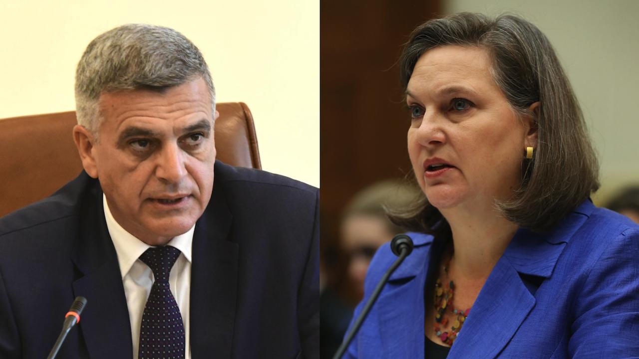 Премиерът Стефан Янев се чу с Виктория Нюланд, обсъдиха наложените санкции на българи