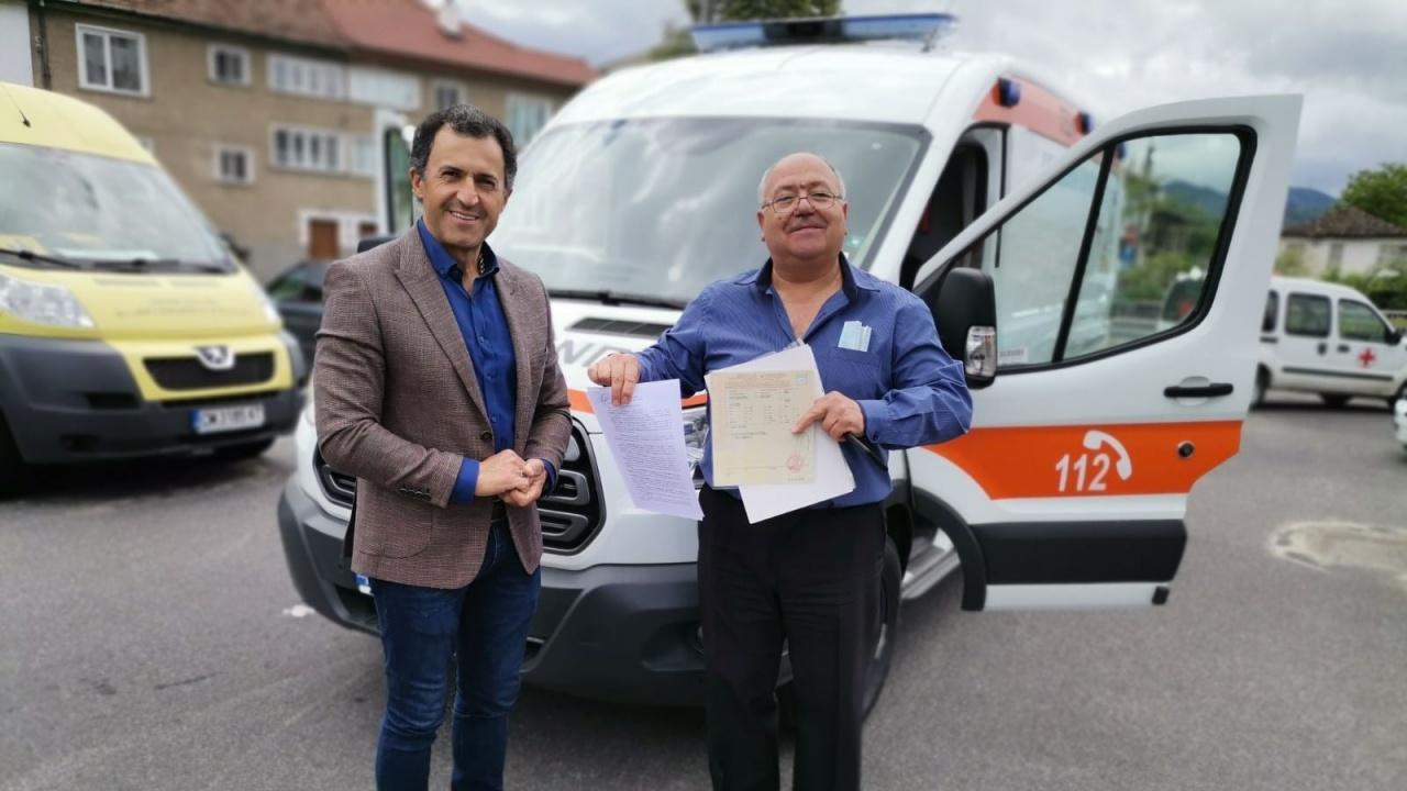 Дариха нова линейка на болницата в Златоград