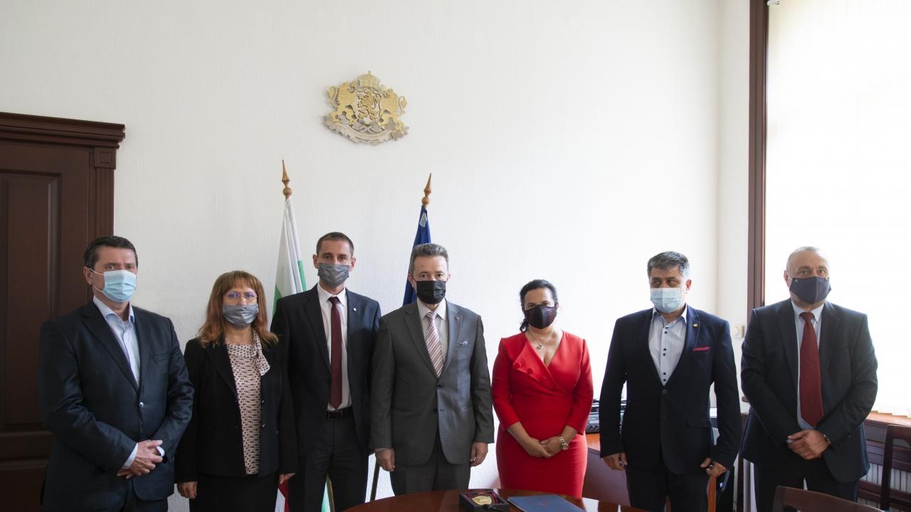 Янаки Стоилов се срещна с представители на съдиите, прокурорите и следователите