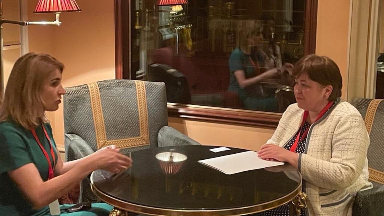 Министър Стела Балтова се срещна с Марияна Олескив, председател на Държавната агенция за развитие на туризма на Украйна