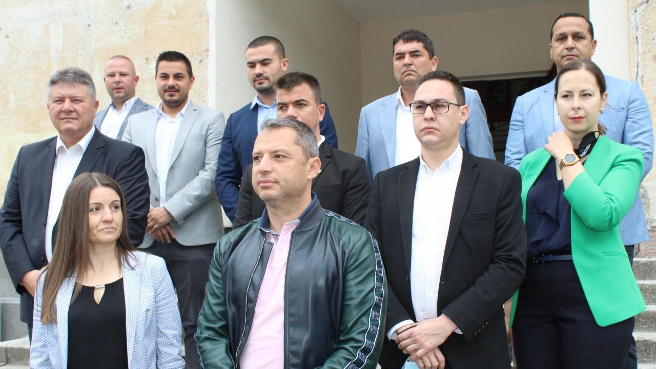 ГЕРБ-СДС регистрира кандидат-депутатската си листа в Хасково