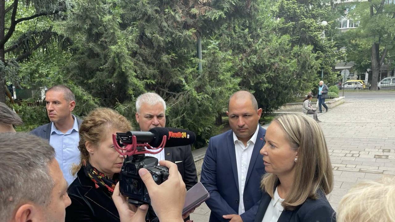 Каназирева, водач на листата на ГЕРБ-СДС за област Пловдив: Да управляваш държава не е политическо шоу