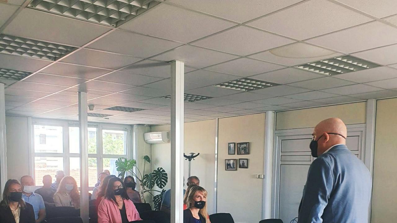 Гешев посети Окръжна и Районна прокуратура-Видин и отделението в Берковица