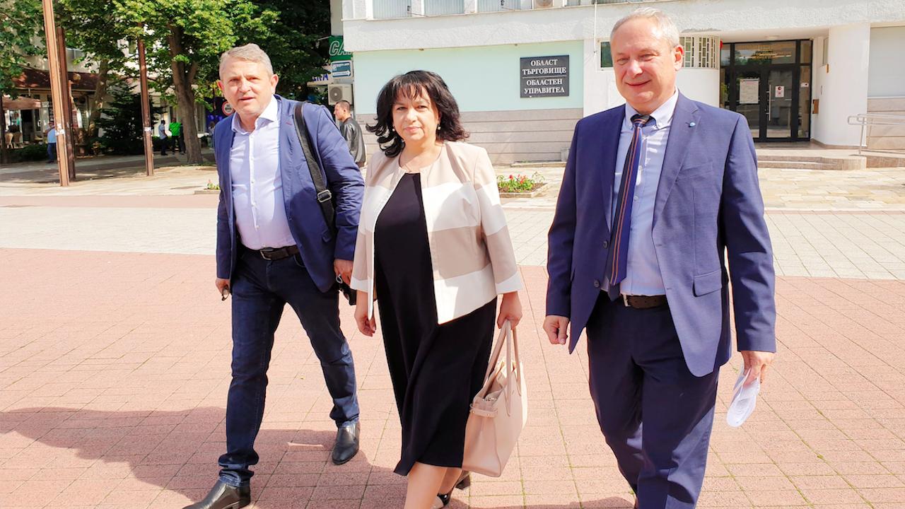 Коалиция ГЕРБ-СДС регистрира листата с кандидати за народни  представители в Търговище