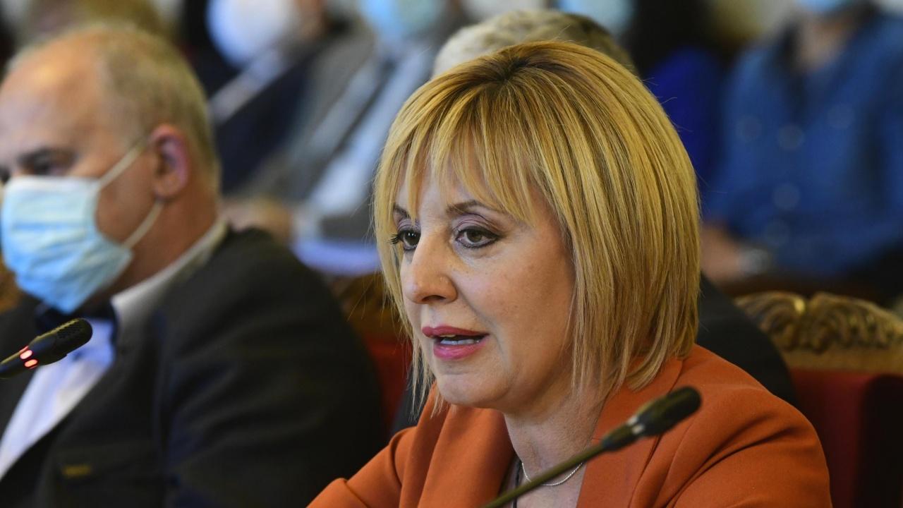 Манолова обяви, че в следващото НС ще създаде комисия, в която да се разкрие истина за корумпираните лица в страната