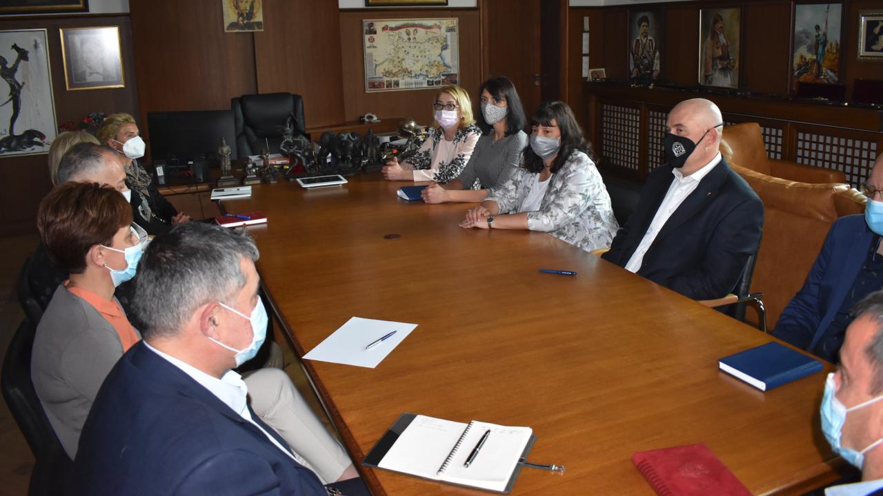 Иван Гешев проведе работна среща със заместниците си и ръководителите на отдели при ВКП