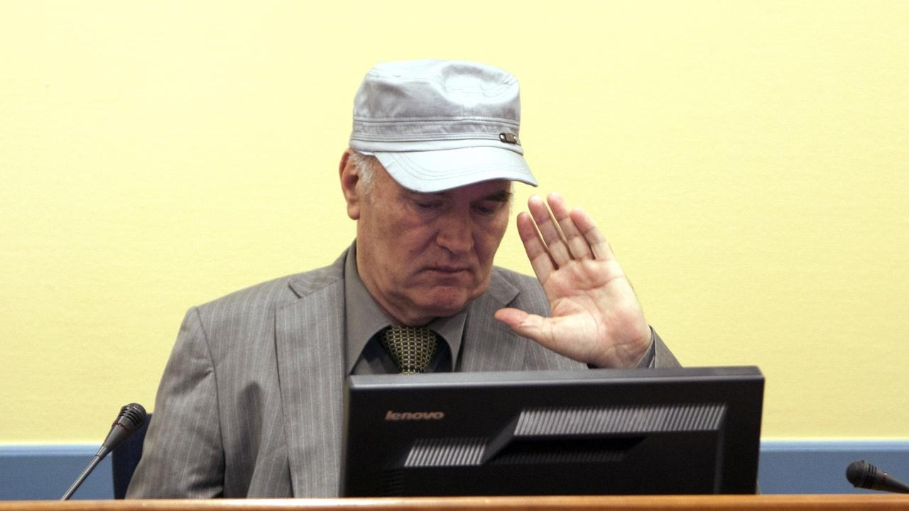 Потвърдиха доживотния затворна Ратко Младич