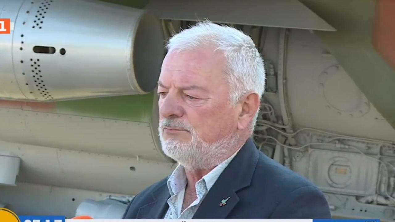 Ген. Спас Спасов с коментар за тежкия инцидент с пилот на МиГ-29