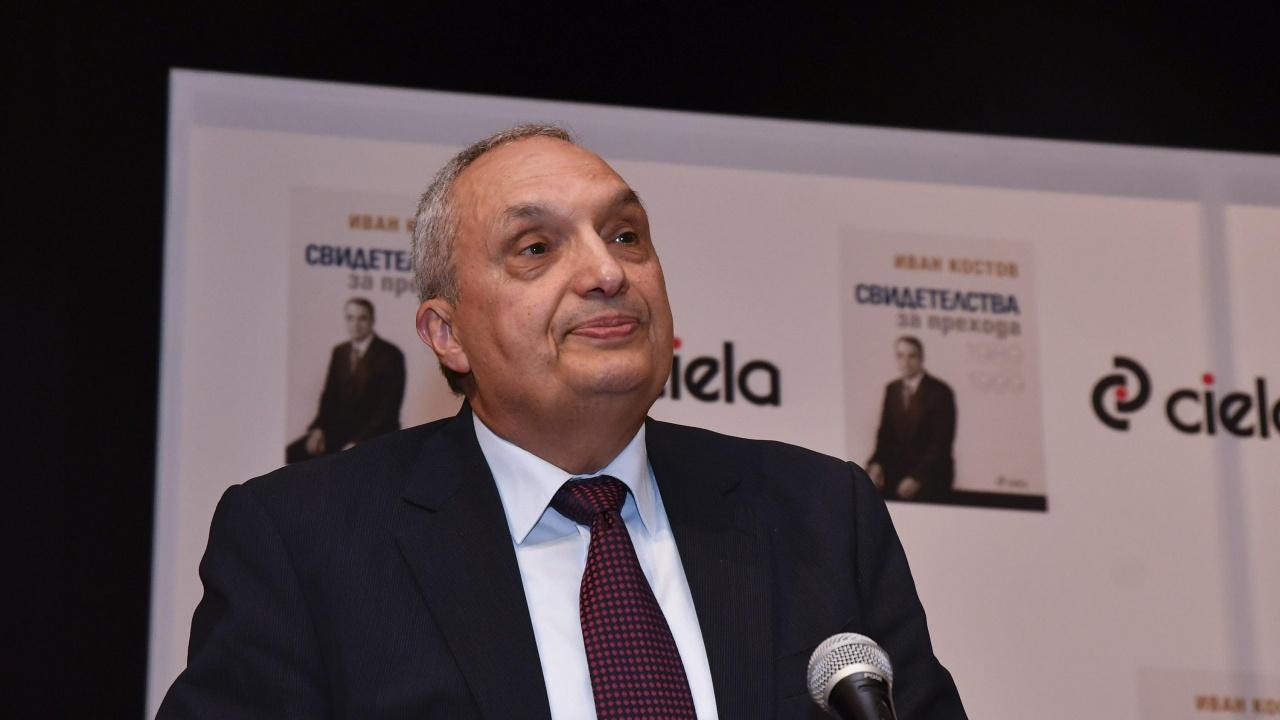 Иван Костов: ИТН единствени имат шанс да съставят правителство