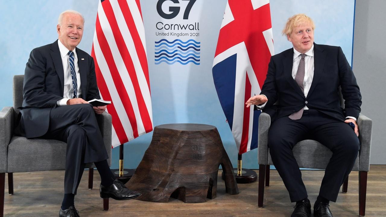 Борис Джонсън: Връзката между Великобритания и САЩ е нерушима