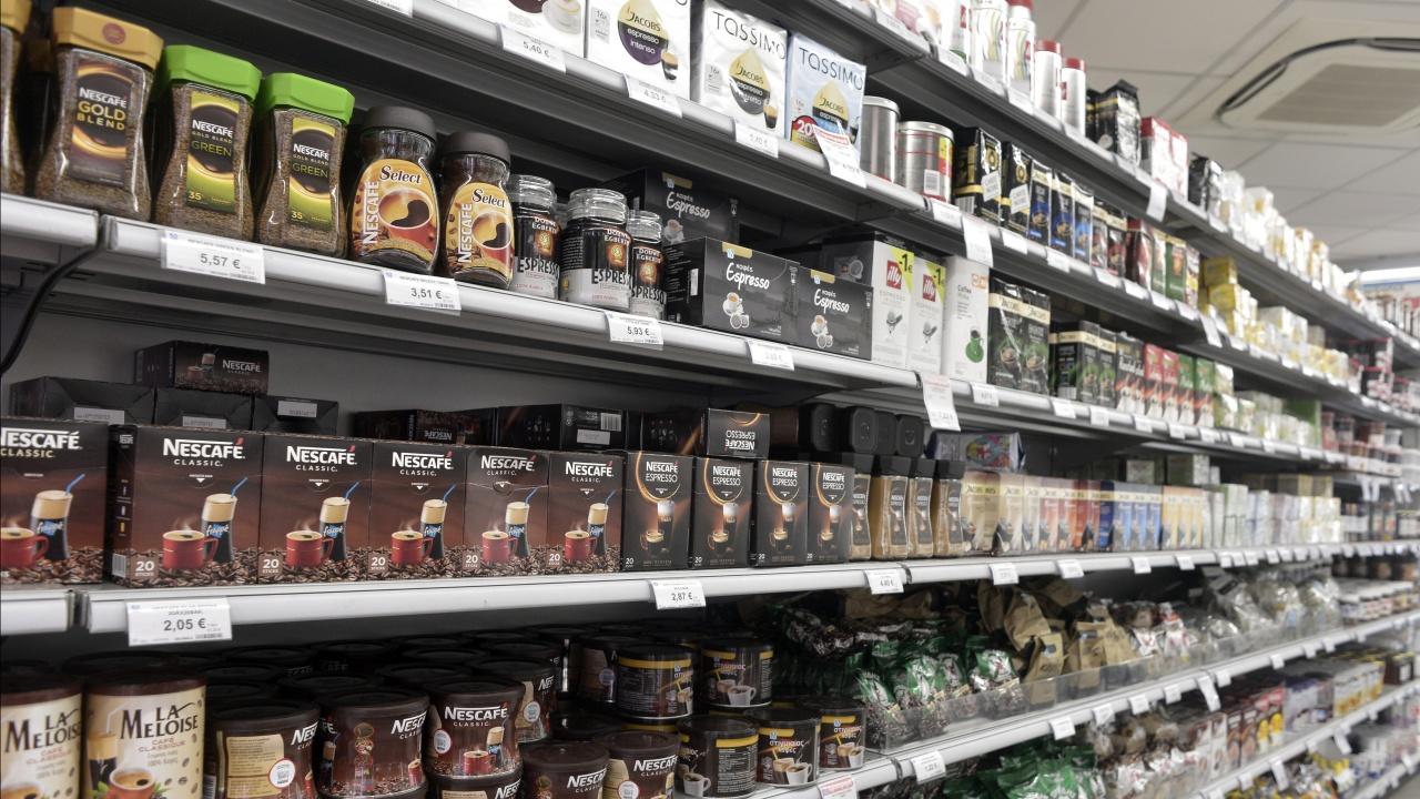 Цените в гръцките супермаркетите са поскъпнали с 2,2 процента