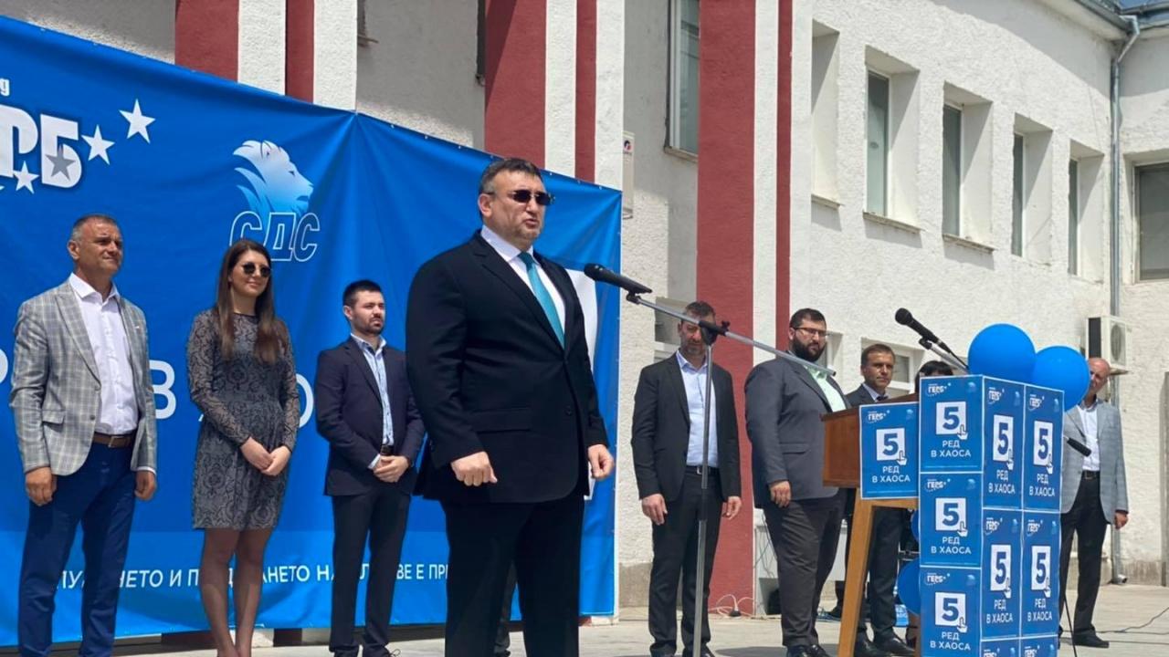 Младен Маринов на откриването на кампанията: Хората не искат шоу, а ред в държавата и принципно управление