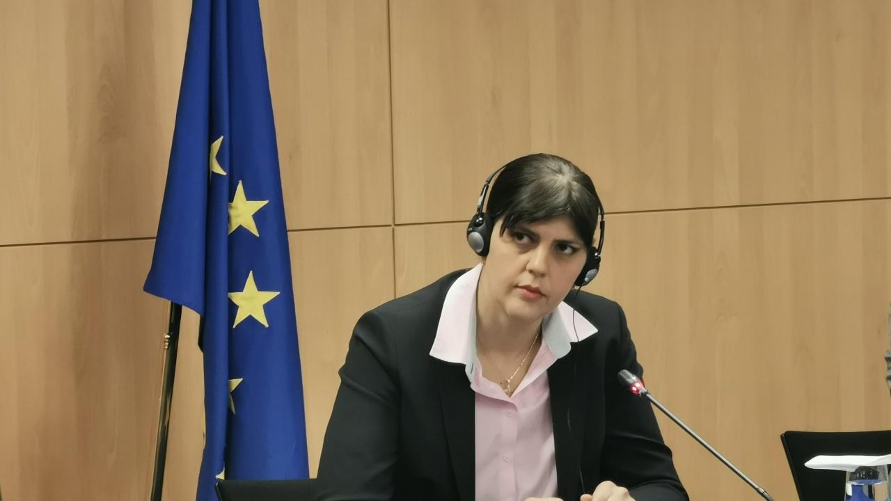 Водещите новини! Лаура Кьовеши: Не съм тук, за да оценявам качеството на българската прокуратура, това не е моя работа