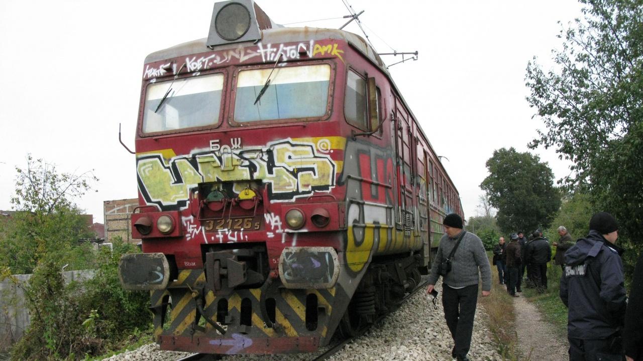 """Все още не е освободена за движение жп линията край гара """"Белово"""""""