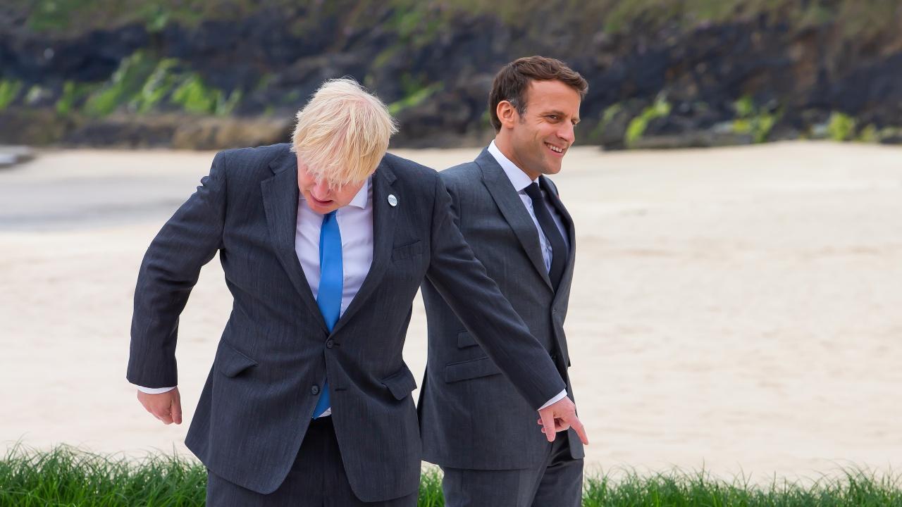 Макрон иска Джонсън да удържи на думата, дадена на европейците по повод Брекзит