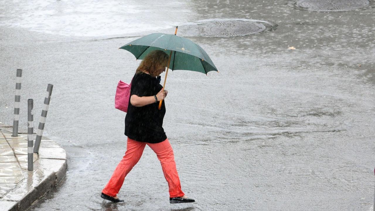 На места ще има  краткотрайни валежи