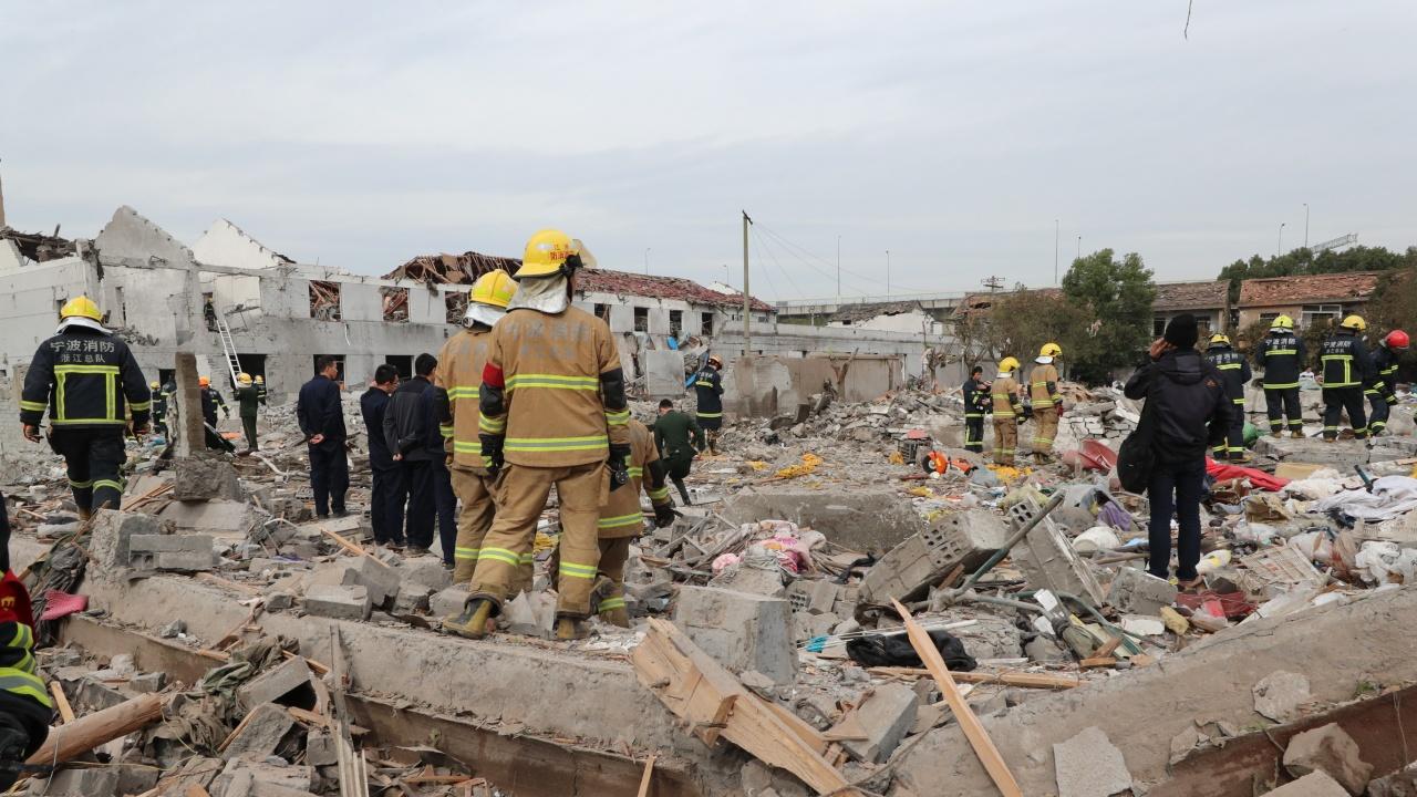 11 загинаха при взрив в Китай