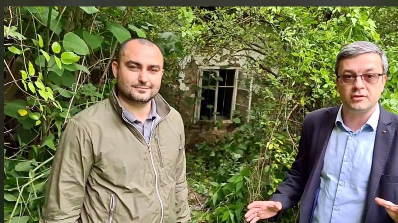 Тома Биков и Александър Иванов посетиха село Ялботина