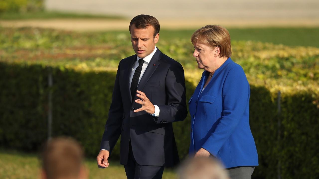 Макрон ще се срещне с Меркел в Берлин в петък