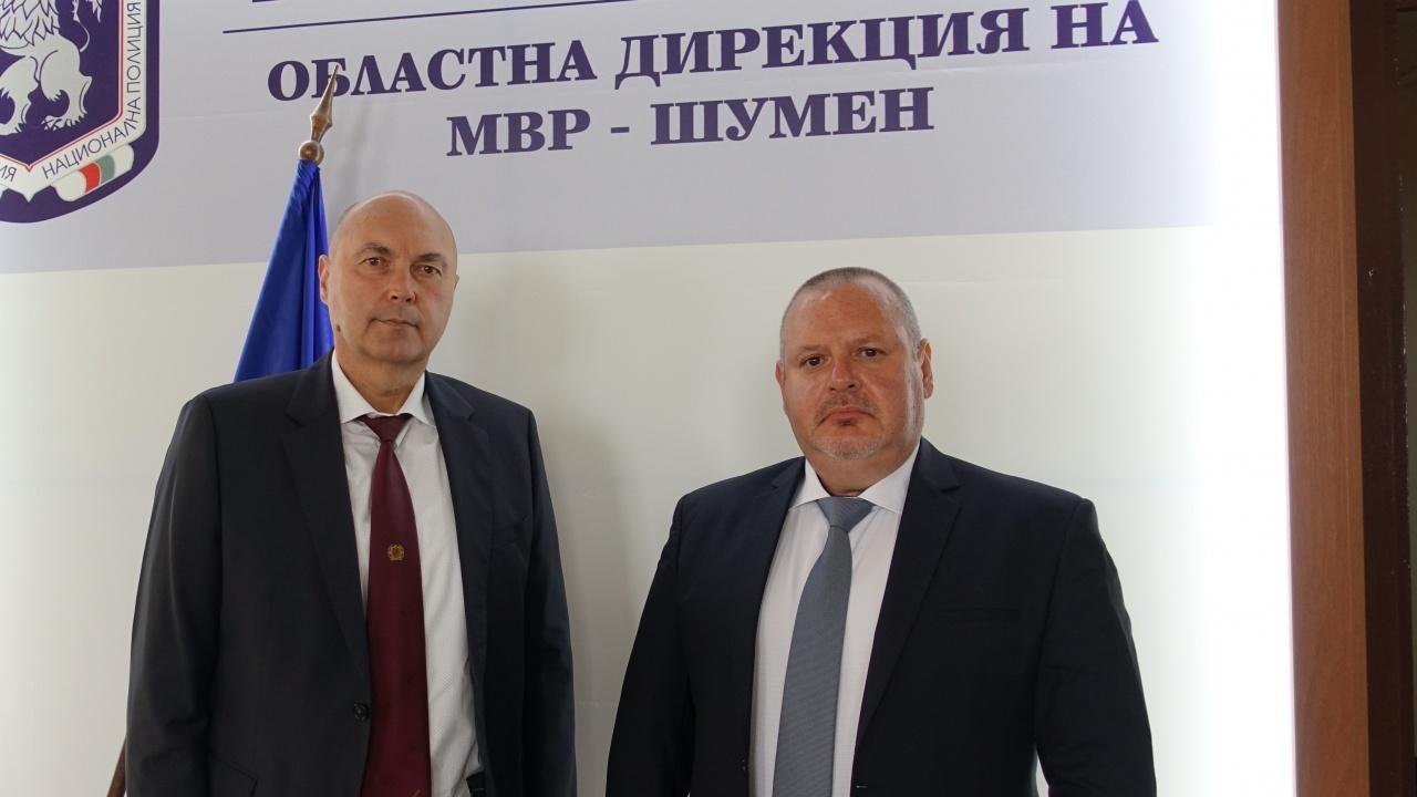 МВР рокада: Смениха директора на полицията в Шумен