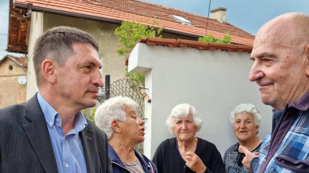 Терзийски в с. Баланово: Нашата позиция винаги е била, че най-голяма тежест трябва да има мнението на местните хора
