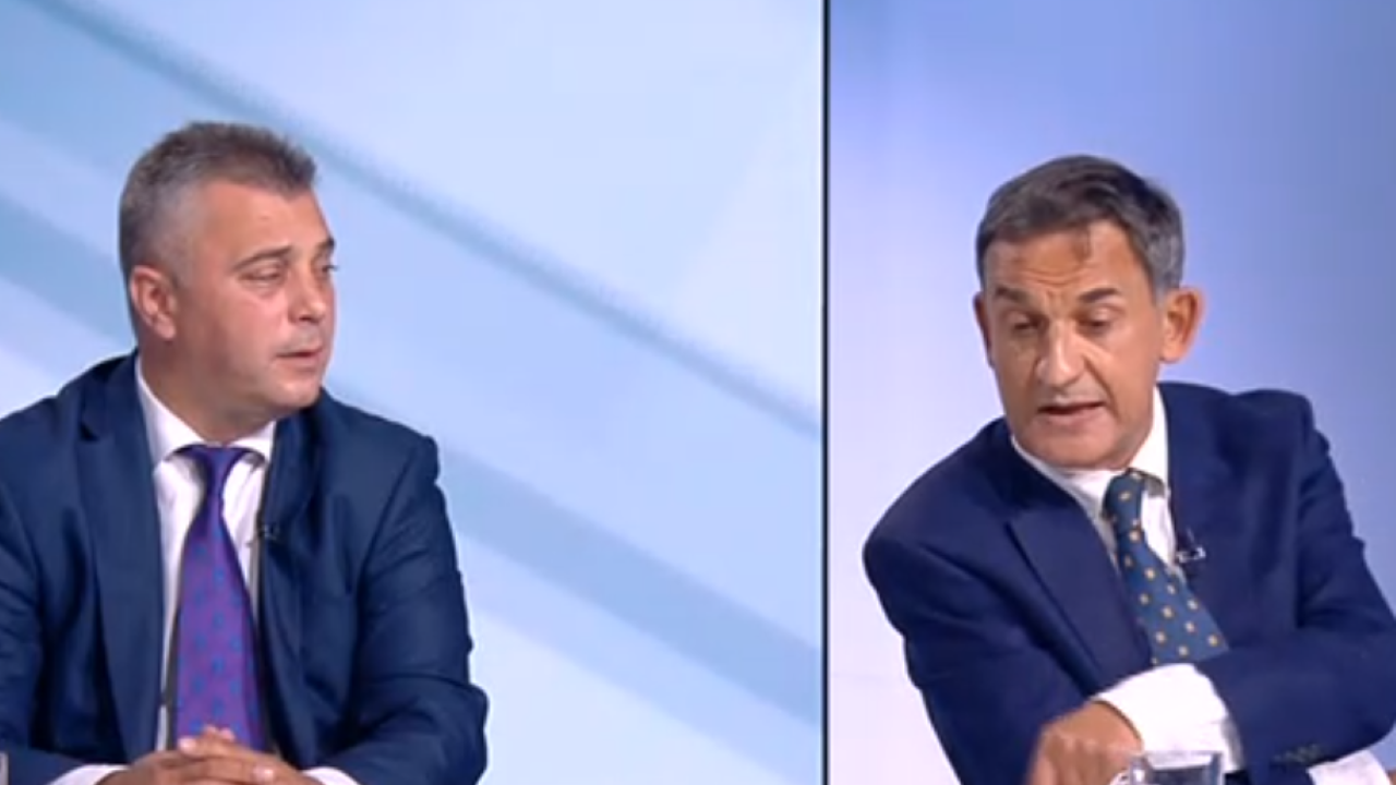 """Юлиан Ангелов и Стефан Тафров в лют спор в ефир за Северна Македония, наричат се """"национални предатели"""""""