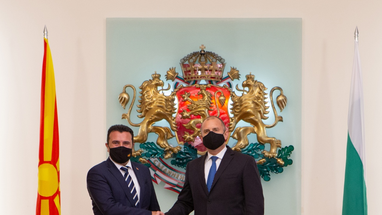 Румен Радев: България очаква прагматичен диалог с Република Северна Македония