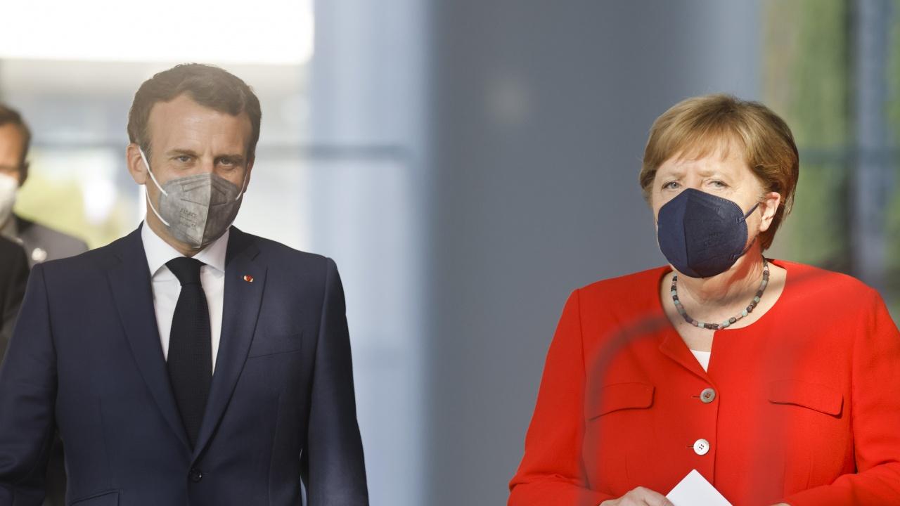 Меркел и Макрон призоваха за бдителност по отношение на новия вариант на вируса